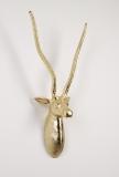 Deko kleine Antilope Gold